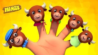 Download Finger Family Animals | Nursery Rhymes For Children | Videos For Kids by Farmees Video