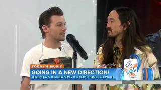 Download Louis Tomlinson Confirmed ONE DIRECTION is Coming Back! [The Today Show] w/ Steve Aoki Video