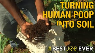 Download Transforming Human Poop Into Eco-Friendly Fertilizer   Best Job Ever Video