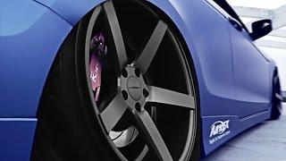 Download Vossen VVSCV3 Matte Graphite Wheels on Honda Accord Video