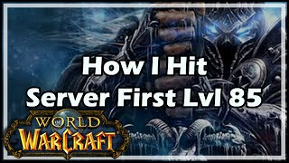 Download [World of Warcraft] How I Hit Server First 85 Video