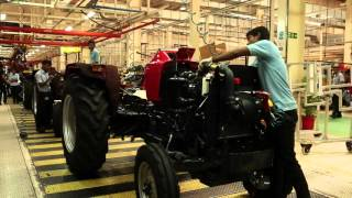 Download Mahindra Tractor Manufacturing Video for Make in India Week Video