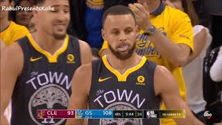 Download Steph Curry goes 5/5 from 3 in the 4th after Kendrick Perkins Talks Shit! Finals Game 2 (06/03/2018) Video