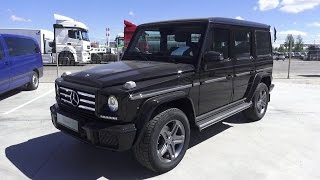 Download 2016 Mercedes-Benz G 350d (W463). Start Up, Engine, and In Depth Tour. Video