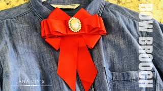 Download DIY// moño Victoriano/ Bow Brooch #2/ tendencia 2018 Video