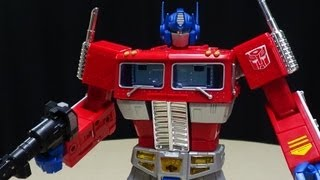 Download Toys R Us Exclusive MASTERPIECE OPTIMUS PRIME: EmGo's Transformers Reviews N' Stuff Video