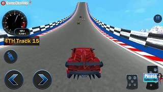 Download Impossible Car Crash Stunts Car Racing Game / Android Gameplay Video #4 Video