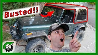 Download Jeep Wrangler Hard Top Rebuild Video