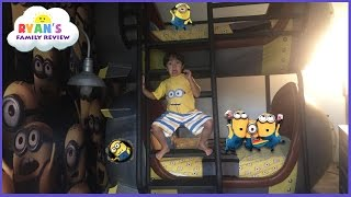 Download Toy Hunt at Minion Hotel Room in Universal Studio Resort Family fun trip with Ryan's Family Review Video