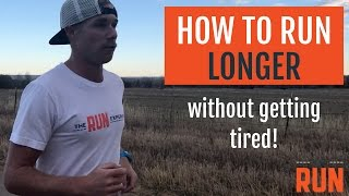 Download How to Run Longer Without Getting So Tired Video