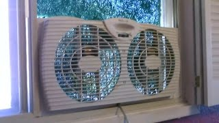 Download Homemade Air Purifier! - The ″Window Fan″ Air Filtration System! - Easy DIY (w/box fan conversion!) Video