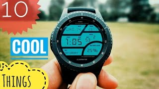 Download 10 cool things to do with Samsung Gear S3 Frontier! Video
