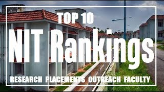 Download NIT Colleges Rankwise | Ranks for Placements, Faculty, Research and Outreach | Top 10 Video