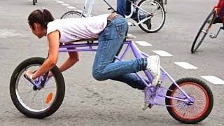 Download Top 15 VIDEOS Of Weirdest & Strangest Bicycles In The World Video
