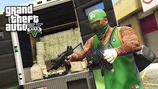 Download GTA 5 Real Life Thug Mod #26 - ROBBING EVERYTHING!! (GTA 5 Mods) Video
