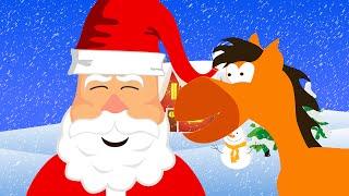 Download Ein Kleiner Weißer Schneemann (Jingle Bells) - Weihnachtslied für Kinder Tinyschool Deutsch Video