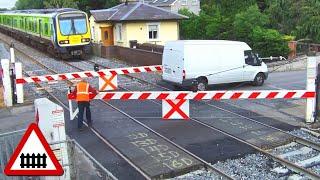 Download Very Old Railway Crossing Video