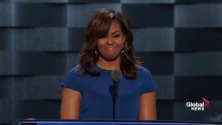 Download First lady Michelle Obama talks about children being the future in DNC speech Video