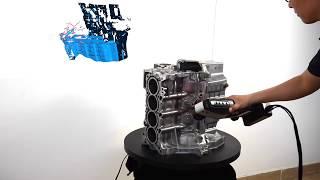 Download SHINING 3D FreeScan X7 Handheld 3D Laser Scanner Video