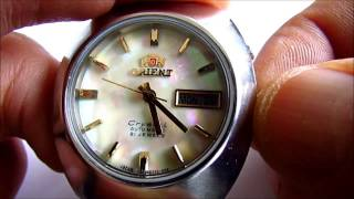 Download Orient Automatic 21 Jewels Wristwatch Calibre 46941 Video