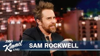 Download Sam Rockwell on Winning an Oscar, Clint Eastwood & Madonna Video