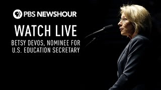 Download WATCH LIVE: Betsy Devos confirmation hearing Video
