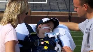 Download ESPN Mighty Matt Make-A-Wish Story at The Big House Video
