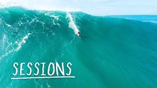 Download An Autumn Swell To Remember At Nazaré | Sessions Video