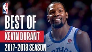 Download Kevin Durant's Best Plays of the 2017-2018 NBA Regular Season Video