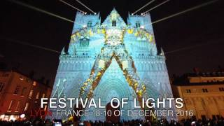 Download Fête des Lumières 2016, Lyon France Video