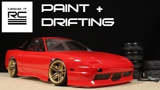 Download Budget RC Drift Build: Part 3 Painting + Mounting Body and Drifting Video