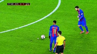 Download 10 Ridiculously Smart & Cheeky Things Lionel Messi Did in 2017 Season ||HD|| Video