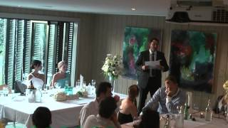 Download guy and sarahs wedding speeches Video