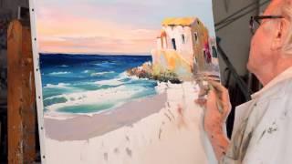 Download Christian Jequel technique Jequel de peinture au couteau Video