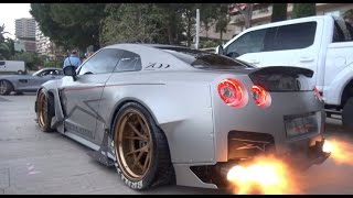 Download 1600 HP Nissan GT-R CRAZY SOUND & FLAMES by Brill Steel Motorsport Video
