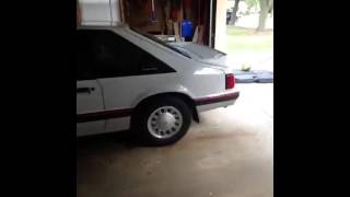 Download 1987 Ford Mustang LX Fox Body Hatchback Start Up, Engine, and Short Tour Video