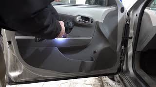Download How to remove car door panel and replace install rear view side mirror Video