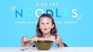 Download Kids Try Noodles from Around the World | Kids Try | HiHo Kids Video