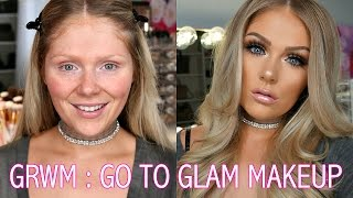 Download GET READY WITH ME   GO TO GLAM MAKEUP LOOK Video