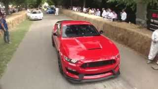 Download Ford Mustang GT350R at Goodwood Festival of Speed 2015 Video