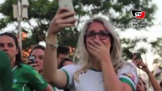 Download «بالدموع والهتاف» مسيرة لمشجعي «شابيكوينسي» البرازيلي بعد تحطم طائرتهم Video
