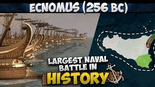 Download Battle of Ecnomus (256 BC) - Largest Naval Battle in History Video