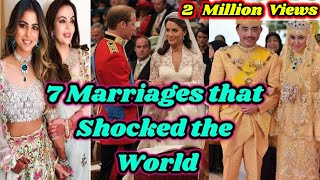 Download 7 Most Expensive Weddings Ever in the History 7 Wonders of the World Video