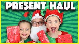 Download ❤️ CHRISTMAS PRESENT HAUL Bad Santa scares elves! Rainbow Unicorn Sponge Bob My Little Pony mlp Video
