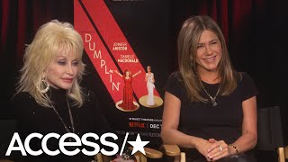 Download Dolly Parton Reveals How Her Husband Responded To Her Jennifer Aniston-Threesome Bombshell Video