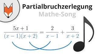 Download Partialbruchzerlegung (Mathe-Song) Video