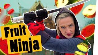 Download Challenge: Fruit Ninja in Real Life – Wir spielen das Spiel in echt! II Das schaffst du nie! Video