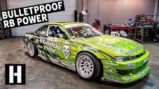 Download Bulletproof 600hp RB25-Powered S14: Ryan Litteral's Rowdy Drift Car Video