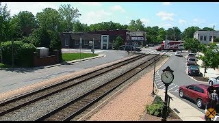 Download Ashland, Virginia USA - Virtual Railfan LIVE Video