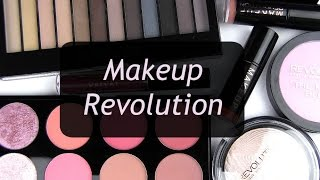 Download New Affordable Brand - Makeup Revolution: Live Swatches & Review Video